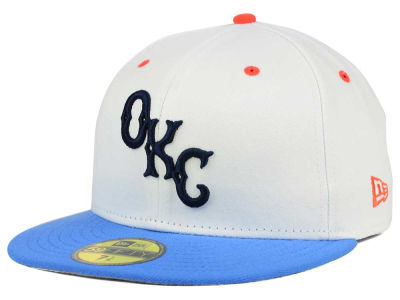 Oklahoma City Dodgers New Era MiLB Custom Collection 59FIFTY Cap