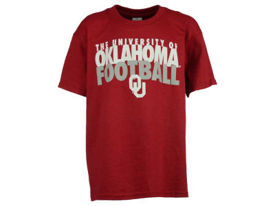 Oklahoma Sooners NCAA Youth University Football 2 Tone T-Shirt