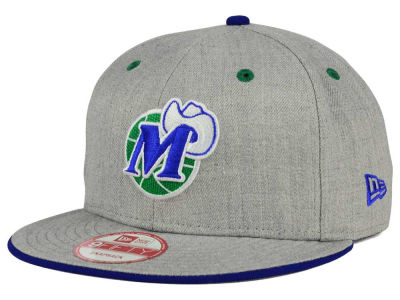Dallas Mavericks New Era NBA HWC Heather Team Color 9FIFTY Snapback Cap