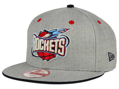 Houston Rockets New Era NBA HWC Heather Team Color 9FIFTY Snapback Cap