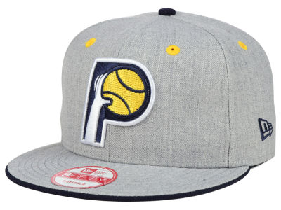 Indiana Pacers New Era NBA HWC Heather Team Color 9FIFTY Snapback Cap