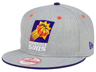 Phoenix Suns New Era NBA HWC Heather Team Color 9FIFTY Snapback Cap