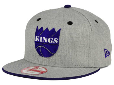 Sacramento Kings New Era NBA HWC Heather Team Color 9FIFTY Snapback Cap