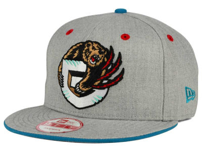 Vancouver Grizzlies New Era NBA HWC Heather Team Color 9FIFTY Snapback Cap