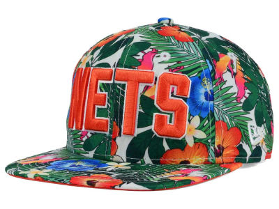 New Jersey Nets New Era NBA HWC Light Floral 9FIFTY Snapback Cap