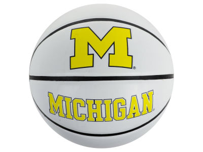 Michigan Wolverines Autograph Basketball
