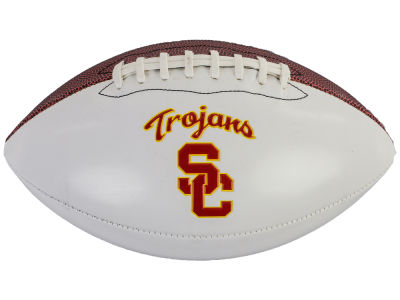 USC Trojans NCAA Autograph Football