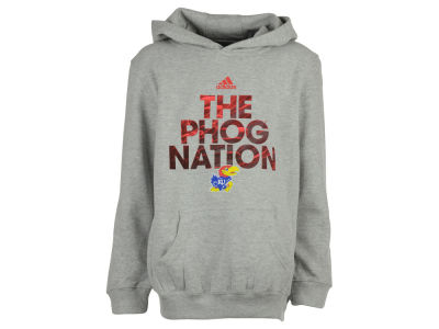 Kansas Jayhawks NCAA Youth Rare Diamond Pullover Hoodie