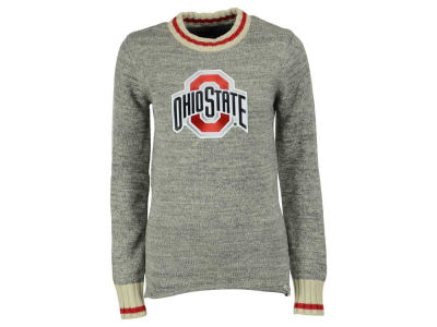 Ohio State Buckeyes NCAA Women's Work Sock Crew Sweater