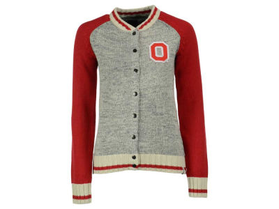 Ohio State Buckeyes NCAA Women's Letterman Sweater