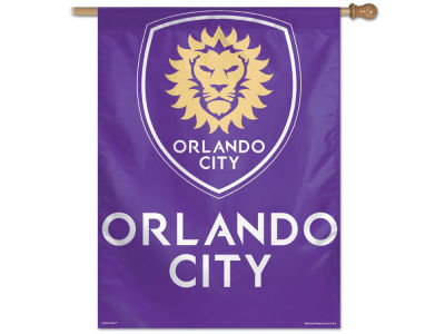 Orlando City SC 27X37 Vertical Flag