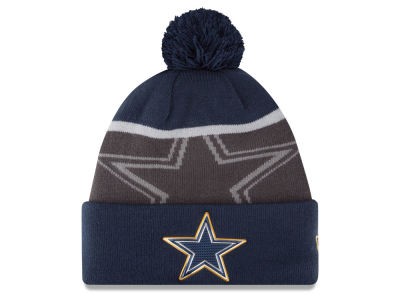 Dallas Cowboys New Era NFL Gold Collection Team Color Knit