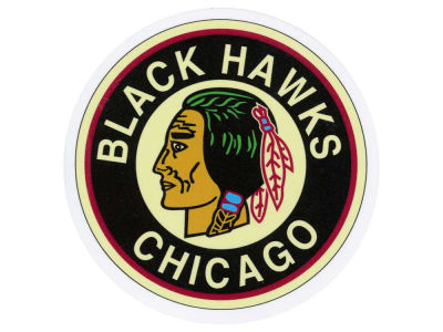 Chicago Blackhawks Die Cut Color Decal 8in X 8in