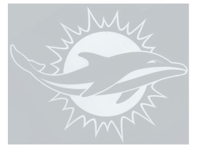 "Miami Dolphins Die Cut Decal 8""x8"""
