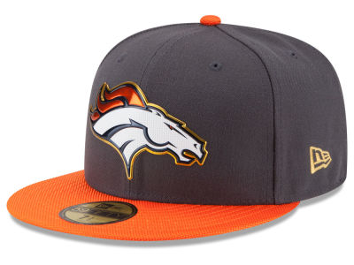 Denver Broncos New Era NFL Gold Collection On Field 59FIFTY Cap