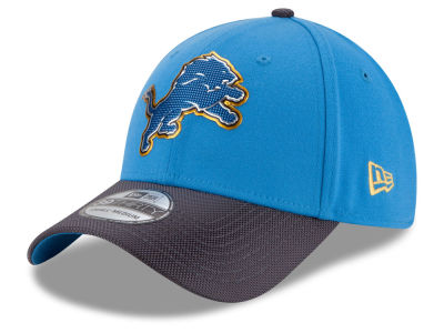 Detroit Lions New Era NFL Gold Collection On Field 39THIRTY Cap