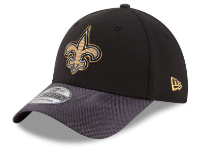 New Orleans Saints New Era NFL Gold Collection On Field 39THIRTY Cap