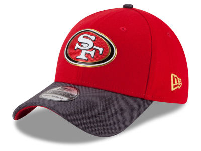 San Francisco 49ers New Era NFL Gold Collection On Field 39THIRTY Cap