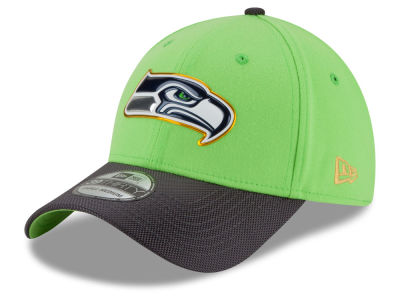Seattle Seahawks New Era NFL Gold Collection On Field 39THIRTY Cap