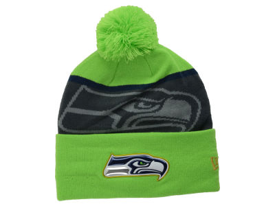 Seattle Seahawks New Era NFL Gold Collection Team Color Knit