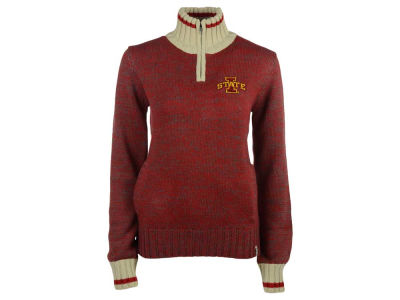 Iowa State Cyclones NCAA Women's Work Sock 1/4 Zip Sweater