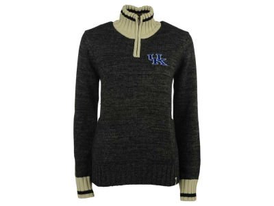 Kentucky Wildcats NCAA Women's Work Sock 1/4 Zip Sweater