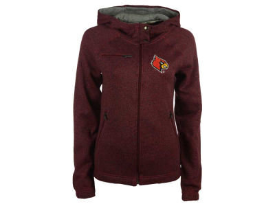 Louisville Cardinals NCAA Women's Nantucket Zip Hoodie