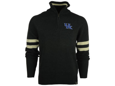 Kentucky Wildcats NCAA Men's Halfback Quarter Zip Sweater
