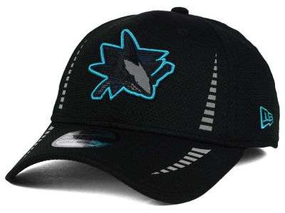 San Jose Sharks New Era NHL 2015 Reflective Pop 39THIRTY Cap