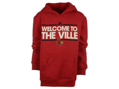 Louisville Cardinals adidas NCAA Youth Dassler Local Pullover Hoodie