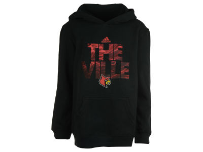 Louisville Cardinals NCAA Youth Rare Diamond Pullover Hoodie