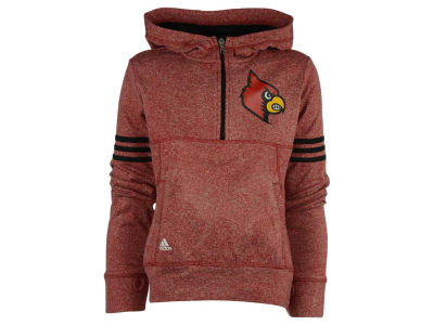 Louisville Cardinals NCAA Girls Charged 1/2 Zip Hoodie