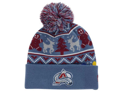 Colorado Avalanche New Era NHL Ugly Sweater Knit