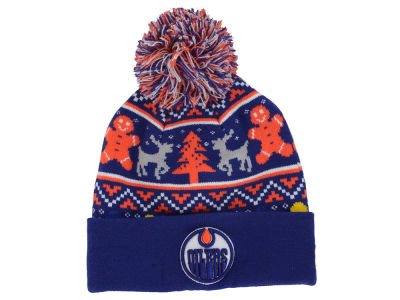 Edmonton Oilers New Era NHL Ugly Sweater Knit