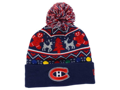 Montreal Canadiens New Era NHL Ugly Sweater Knit