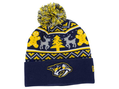 Nashville Predators New Era NHL Ugly Sweater Knit