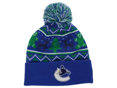 Vancouver Canucks New Era NHL Ugly Sweater Knit