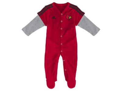 Louisville Cardinals NCAA Newborn Player Long Sleeve Coverall