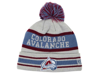 Colorado Avalanche New Era NHL 2015 Heather Jake Pom Knit