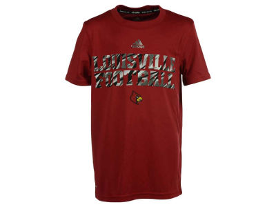 Louisville Cardinals adidas NCAA Youth Shock Worthy Performance T-Shirt