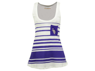 LSU Tigers NCAA Women's 10 Yard Line Pocket Tank