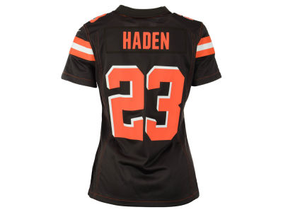 Cleveland Browns Joe Haden Nike NFL Women's Game Jersey