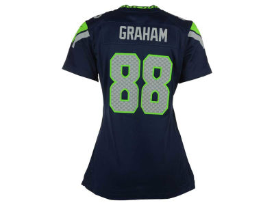 Seattle Seahawks Jimmy Graham Nike NFL Women's Game Jersey