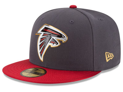 Atlanta Falcons New Era NFL Gold Collection On Field 59FIFTY Cap