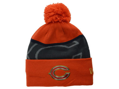 Chicago Bears New Era NFL Gold Collection Team Color Knit