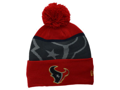 Houston Texans New Era NFL Gold Collection Team Color Knit