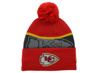 Kansas City Chiefs New Era NFL Gold Collection Team Color Knit