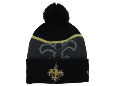 New Orleans Saints New Era NFL Gold Collection Team Color Knit