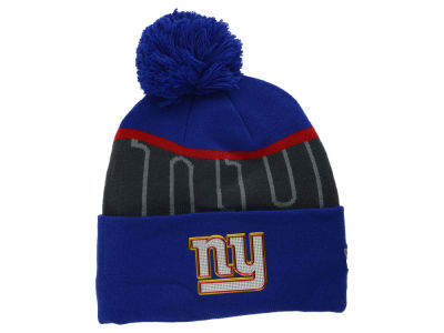 New York Giants New Era NFL Gold Collection Team Color Knit