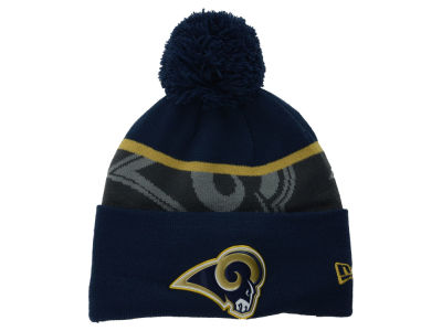 St. Louis Rams New Era NFL Gold Collection Team Color Knit